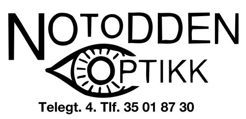 Logo for Notodden Optikk